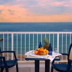 Отель Port Mar Blau Adults Only Испания, Бенидорм - 1 отзыв об отеле, цены и фото номеров - забронировать отель Port Mar Blau Adults Only онлайн балкон