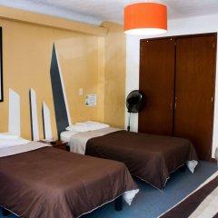 Hostel Hospedarte Chapultepec Гвадалахара комната для гостей