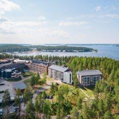 Отель Imatran Kylpylä Финляндия, Иматра - 14 отзывов об отеле, цены и фото номеров - забронировать отель Imatran Kylpylä онлайн пляж фото 2