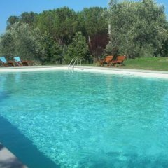 Отель Villa Poggio Ai Merli бассейн
