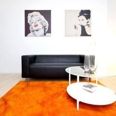 Апартаменты Vienna Residence Lovely Apartment With Space for 2 Close to the Subway Вена комната для гостей фото 3