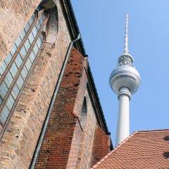 Отель easyHotel Berlin Hackescher Markt Германия, Берлин - отзывы, цены и фото номеров - забронировать отель easyHotel Berlin Hackescher Markt онлайн приотельная территория