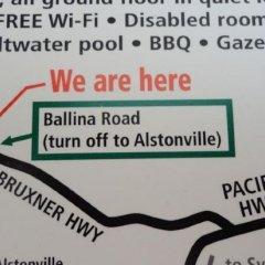 Отель Alstonville Settlers Motel городской автобус