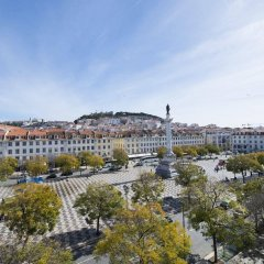 Отель My Story Hotel Rossio Португалия, Лиссабон - 2 отзыва об отеле, цены и фото номеров - забронировать отель My Story Hotel Rossio онлайн балкон