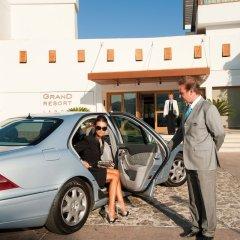 Отель Grand Resort Lagonissi городской автобус