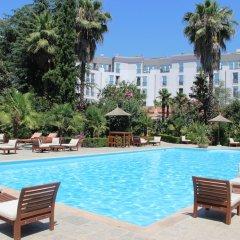 Отель Rogner Hotel Tirana Албания, Тирана - отзывы, цены и фото номеров - забронировать отель Rogner Hotel Tirana онлайн бассейн фото 3