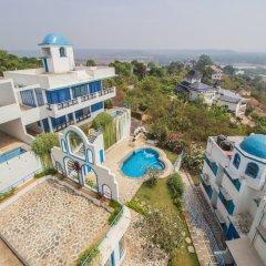 Отель OYO 11897 Home Greek Style 2BHK With Pool Bambolim Гоа пляж