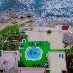 Отель Sunset Resort Треже-Бич спортивное сооружение
