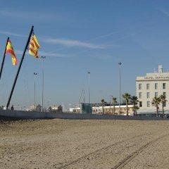 Hotel Neptuno Валенсия приотельная территория