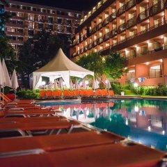 Отель Gladiola Star Болгария, Золотые пески - отзывы, цены и фото номеров - забронировать отель Gladiola Star онлайн бассейн