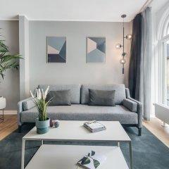 Отель Rosenborg Hotel Apartments Дания, Копенгаген - отзывы, цены и фото номеров - забронировать отель Rosenborg Hotel Apartments онлайн комната для гостей фото 2