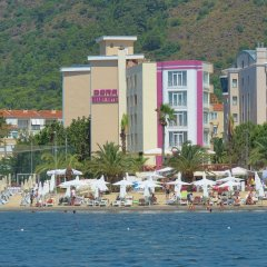 Dora Beach Hotel пляж
