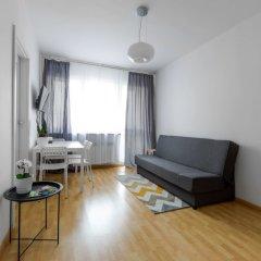 Апартаменты Grand Theater Comfortable Apartment Варшава комната для гостей фото 2