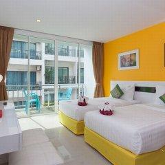 Отель The Frutta Boutique Patong Beach 3* Стандартный номер с различными типами кроватей фото 5