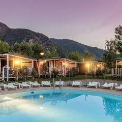 Отель Conca DOro Village Италия, Вербания - отзывы, цены и фото номеров - забронировать отель Conca DOro Village онлайн бассейн фото 2