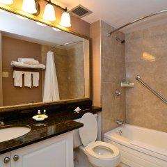 Отель Albert At Bay Suite Hotel Канада, Оттава - отзывы, цены и фото номеров - забронировать отель Albert At Bay Suite Hotel онлайн ванная фото 2