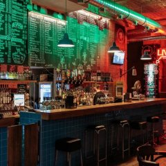 Hotel Gozsdu Court гостиничный бар