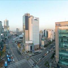 Отель Toyoko Inn Seoul Dongdaemun No.2 балкон