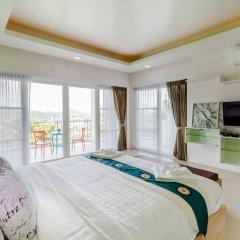Отель Chalong Hill Tropical Garden Homes Пхукет комната для гостей фото 3