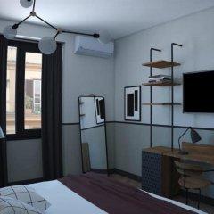 Отель c-hotels Club House Roma сейф в номере