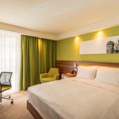 Отель Hampton by Hilton Munich City West Германия, Мюнхен - 1 отзыв об отеле, цены и фото номеров - забронировать отель Hampton by Hilton Munich City West онлайн комната для гостей фото 3