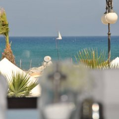 Les Palmiers Beach Hotel in Larnaca, Cyprus from 124$, photos, reviews - zenhotels.com beach