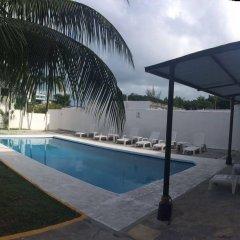Отель Hostel El Corazon Мексика, Канкун - 1 отзыв об отеле, цены и фото номеров - забронировать отель Hostel El Corazon онлайн бассейн