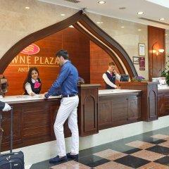 Crowne Plaza Hotel Antalya Турция, Анталья - 10 отзывов об отеле, цены и фото номеров - забронировать отель Crowne Plaza Hotel Antalya онлайн интерьер отеля фото 3