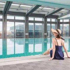 Отель Hyatt House Shanghai Hongqiao CBD Китай, Шанхай - отзывы, цены и фото номеров - забронировать отель Hyatt House Shanghai Hongqiao CBD онлайн бассейн