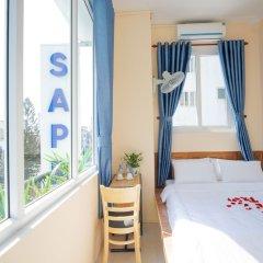 Отель Sapphire Hotel Hue Вьетнам, Хюэ - отзывы, цены и фото номеров - забронировать отель Sapphire Hotel Hue онлайн балкон