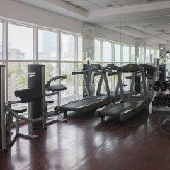 Апартаменты OYO 133 Home Studio Tecom Al Barsha фитнесс-зал фото 2