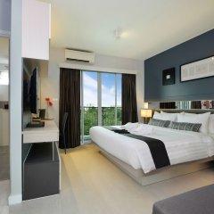 Hotel Amber Sukhumvit 85 Бангкок комната для гостей фото 5
