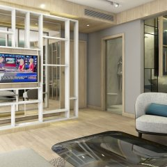 Отель Square Черногория, Будва - отзывы, цены и фото номеров - забронировать отель Square онлайн комната для гостей фото 2