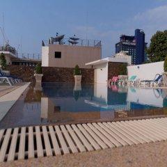 Отель Pattaya Blue Sky бассейн
