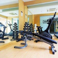 Grand Scenaria Hotel Pattaya фитнесс-зал фото 3