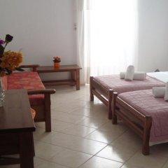 Отель Athina Греция, Милопотамос - отзывы, цены и фото номеров - забронировать отель Athina онлайн комната для гостей фото 3