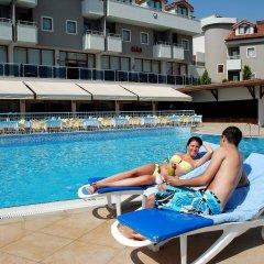 Monachus Hotel & Spa Турция, Сиде - отзывы, цены и фото номеров - забронировать отель Monachus Hotel & Spa - All Inclusive онлайн бассейн фото 3