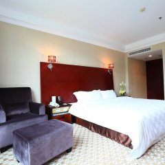 Отель Peony Wanpeng Hotel - Xiamen Китай, Сямынь - отзывы, цены и фото номеров - забронировать отель Peony Wanpeng Hotel - Xiamen онлайн комната для гостей фото 4