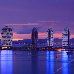 Апартаменты Sanya Skyview Luxury Apartment пляж