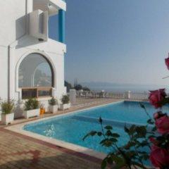 Отель Paradise Lukova Hotel Албания, Химара - отзывы, цены и фото номеров - забронировать отель Paradise Lukova Hotel онлайн бассейн