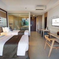 Отель Jimbaran Bay Beach Resort & Spa комната для гостей фото 4