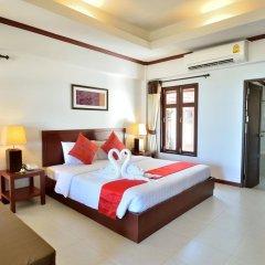 Отель First Bungalow Beach Resort Таиланд, Самуи - 6 отзывов об отеле, цены и фото номеров - забронировать отель First Bungalow Beach Resort онлайн комната для гостей фото 4