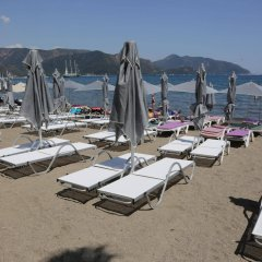 Geo Beach Hotel Мармарис пляж