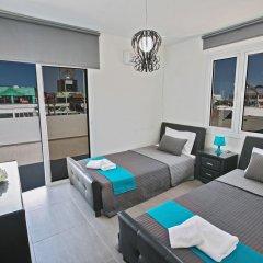 Отель Evelina Apartment Кипр, Протарас - отзывы, цены и фото номеров - забронировать отель Evelina Apartment онлайн комната для гостей фото 3