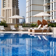 Movenpick Hotel Apartments Downtown Dubai Дубай бассейн фото 2