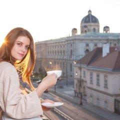 Отель Sans Souci Wien Австрия, Вена - 3 отзыва об отеле, цены и фото номеров - забронировать отель Sans Souci Wien онлайн балкон