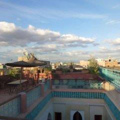 Отель Riad Bianca Марракеш балкон