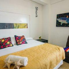 Отель The Mermaid Hostel Beach - Adults Only Мексика, Канкун - отзывы, цены и фото номеров - забронировать отель The Mermaid Hostel Beach - Adults Only онлайн комната для гостей фото 2