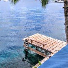Отель Sunset Hill Lodge Французская Полинезия, Бора-Бора - отзывы, цены и фото номеров - забронировать отель Sunset Hill Lodge онлайн приотельная территория