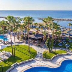 Отель Lordos Beach Кипр, Ларнака - 6 отзывов об отеле, цены и фото номеров - забронировать отель Lordos Beach онлайн бассейн фото 2